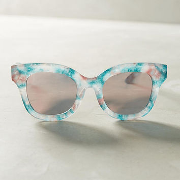 Marble Mirrored Sunglasses