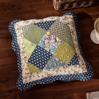 Tache 2 Piece 100% Cotton Floral Spring Showers Cushion Cover