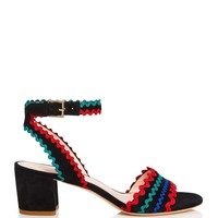 kate spade new yorkPiedra Embellished Mid Heel Sandals