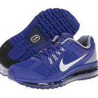 Nike Air Max + 2013 Deep Royal Blue/Cool Grey/White/Reflective Silver - Zappos.com Free Shipping BOTH Ways