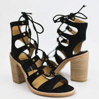 Lyndon Lace Up Heel