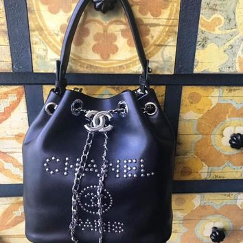 Double C Bucket Bag