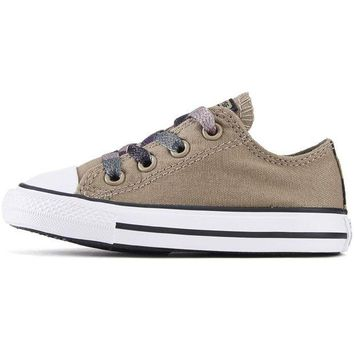 VONE5FW Converse for Infants: Chuck Taylor All Star Ox Sandy/Camo Sneakers