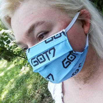 GOT7 Discography Face Mask