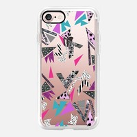 Geometric 90s throwback iPhone 7 Case by Vasare Nar   Casetify
