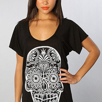 Sugar Skull Soft Slub - Store | Kill Brand