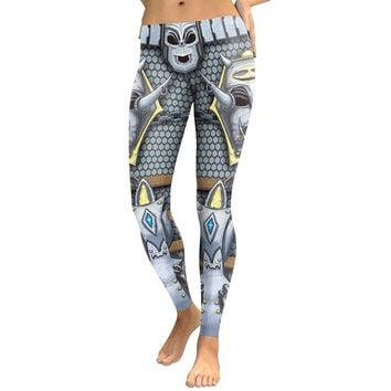 Skeleton Silver Armor Leggings