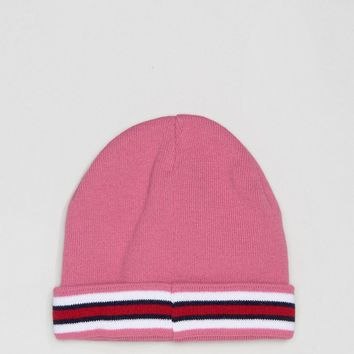 ASOS Stripe Beanie at asos.com