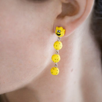 Nintendo Mario Cactus Dangle Earrings