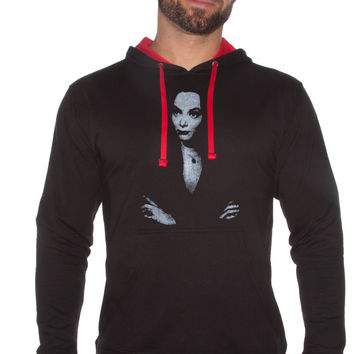 Morticia Addams - French Terry Fleece Hoodie