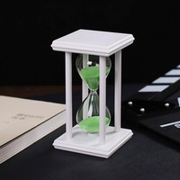 15 Minutes Modern Wooden Sandglass sand Hourglass Countdown Timing Sand Clock Timer reloj de arena Home Decoration ampulheta