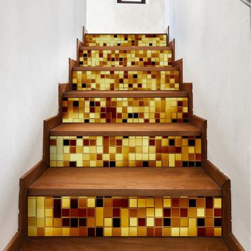 Home Decor Stair Sticker Decoration