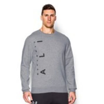 Under Armour Men's UA x Muhammad Ali Rival Fleece Crew