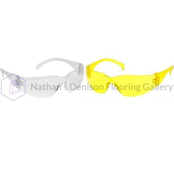 Pyramex Intruder Sfty Glasses 12 Pack - 6 clear and 6 yellow
