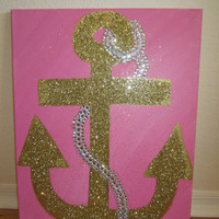 """16"""" x 20"""" canvas anchor painting"""
