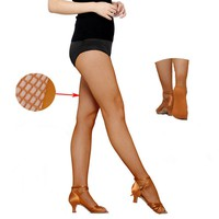 High Quality Women Sexy Latin Dance Fishnet Tightss Pantyhose Slim Dance Latin stocks Sexy Sockings For Women Without Footpad