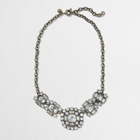 Factory crystal brooch necklace - Necklaces - FactoryWomen's Jewelry - J.Crew Factory