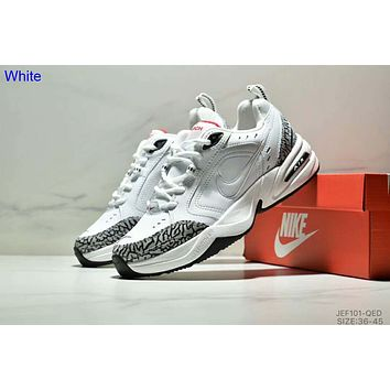 Nike M2K Tekno men's and women's tide brand casual sports running shoes white