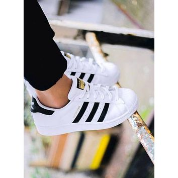 """Adidas"" Women Casual Flats Sneakers Sport Shoes"