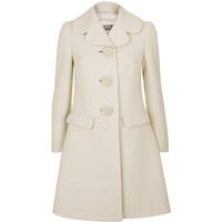 Red Valentino Ottoman Archive Button Coat | Harrods
