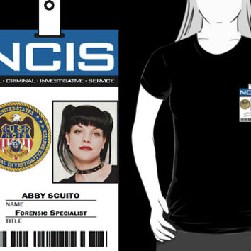 Abby Sciuto NCIS ID Badge Shirt