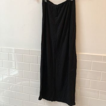 Brandy Melville Black Maxi Skirt