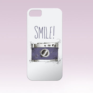 Smile! iphone case,camera iphone case Iphone Case, Iphone 6 case , Iphone 5 case, Iphone 4 case, custom iphone cover