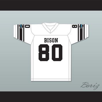 Tracy Two Dogs 80 Blue Springs Bison High School Football Jersey The Slaughter Rule