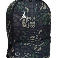 Nike Air Jordan Backpack Toddler Preschool Boy Black Green Small Camo Bag