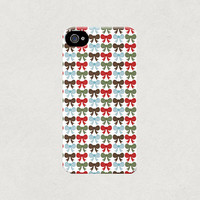 Christmas Bows, Cute & Festive iPhone 4 4s 5 5s 5c Case