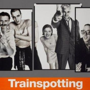 Trainspotting movie poster Sign 8in x 12in