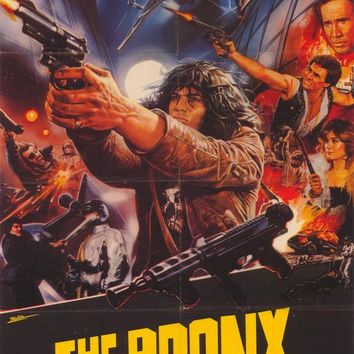 Escape From the Bronx 27x40 Movie Poster (1984)
