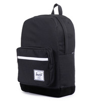 Herschel Supply Co.: Pop Quiz Backpack - Black / Black Suede