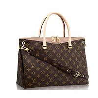 Tagre™ LV Women Shopping Leather Tote Handbag Shoulder Bag Authentic Louis Vuitton Monogram C
