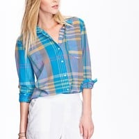 Old Navy Womens Patterned Lightweight Shirts
