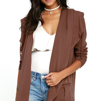 Billabong No Boundaries Brown Jacket