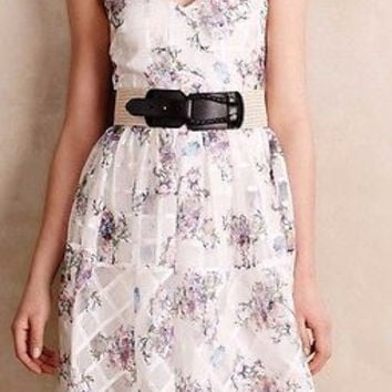 Anthropologie $228 Peony Garden Dress Sz 4, 6, 8, 10 - by Maeve - NWT