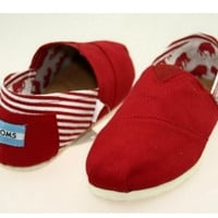 MEN TOMS UNISEX FLAT SHOES FASHION LEISURE LOAFERS