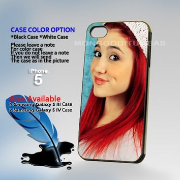 Ariana Grande, Photo Hard Plastic iPhone 5 Case Cover