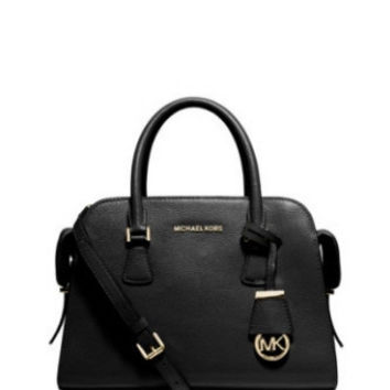 Michael Michael Kors Medium Leather Harper Zip Satchel