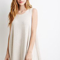 Stretch-Knit Trapeze Dress