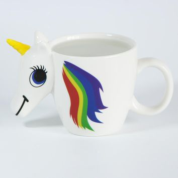 Color Changing Unicorn Coffee Mug