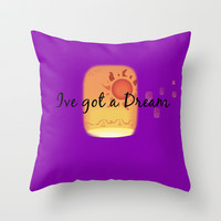 Ive got a Dream Throw Pillow by Lauren Lee Designs