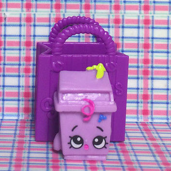 Shopkins Season 2 LISA LITTER Purple Trash Can garbage Shopkin Series Moose Toys