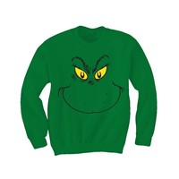 Dr. Suess I am The Grinch Crewneck Sweatshirt