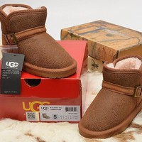 Women's UGG snow boots warm cotton shoes DHL _1686248855-249