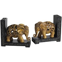 Elephant Bookend Set
