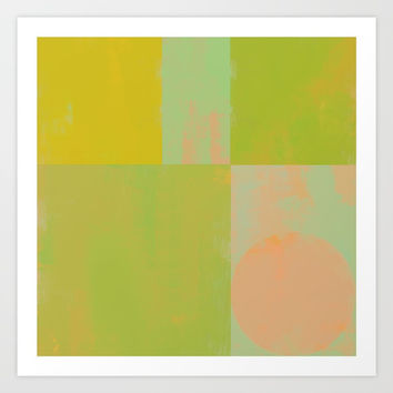 Abstract Geometry No. 6 Art Print by Metron