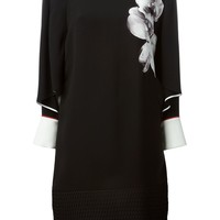 Fendi orchid print dress