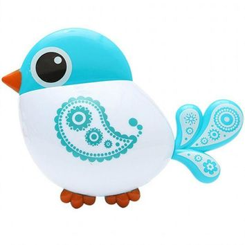 ICIK272 New Lovely Funny Attractive Cute Bird Pattern Tooth Brush Holder Bathroom accessories toothbrush toothpaste Organizers